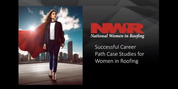 Women Changing the Face of Roofing Businesses Webinar