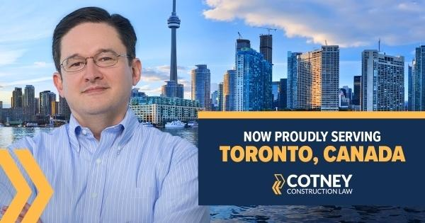 Cotney Construction Law First Canadian Office