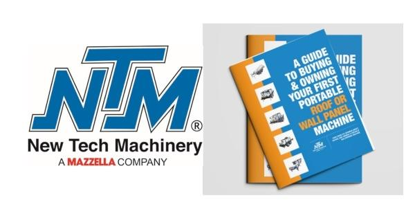 New Tech Machinery A Guide to Buying and Owning Your First Portable Roof or Wall Panel Machine