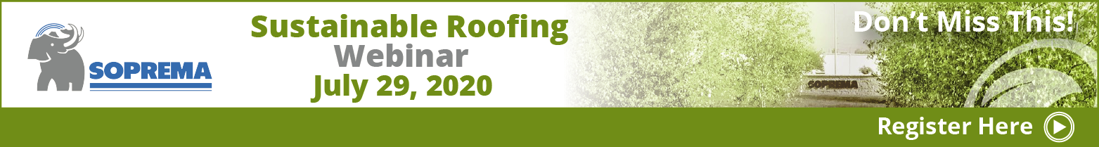 SOPREMA - Banner Ad - Sustainable Roofing RLW