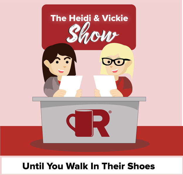 Heidi and Vickie Show Until you Walk in their Shoes