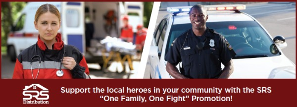 """One Family, One Fight"" Promotion from SRS Distribution, Inc."