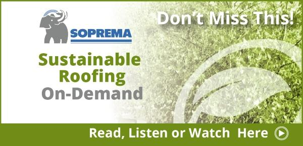 SOPREMA The Future of Sustainable Roofing