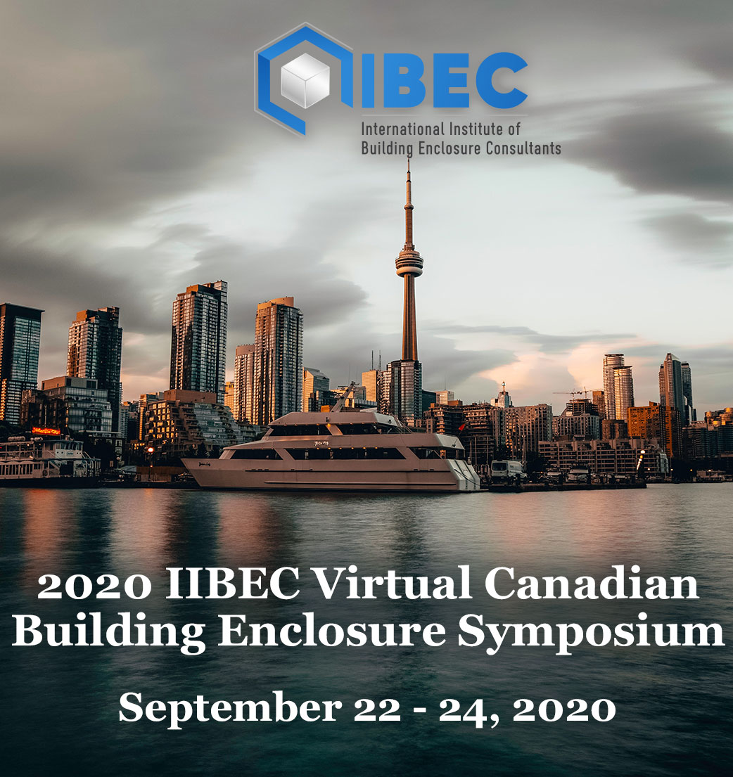 2020 IIBEC Virtual Canadian Building Enclosure Symposium - Sidebar Ad