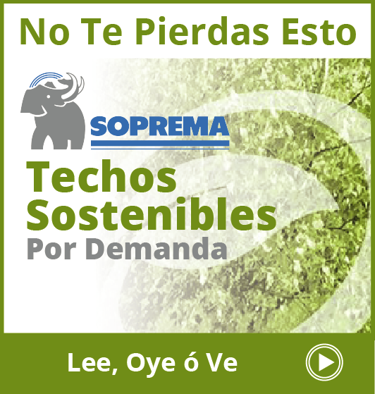 SOPREMA - Sidebar Ad - Sustainable Roofing Webinar - RLW On Demand  - En Espanol