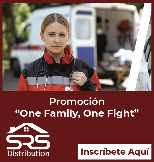 SRS Distribution - Sidebar Ad - One Family, One Fight Promotion (1 - En Espanol)