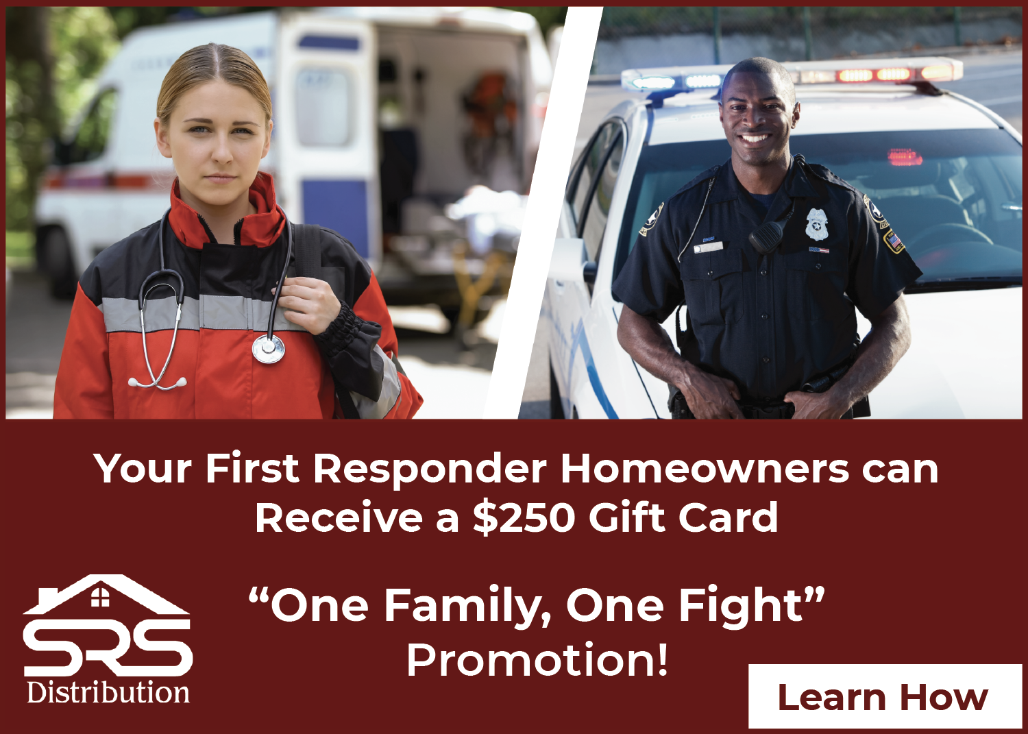 SRS - One Family, One Fight - Navigational Ad