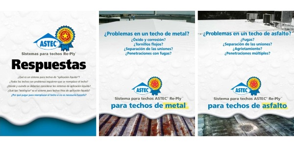 Astec® Fluid Applied Solutions Brochures (Spanish)