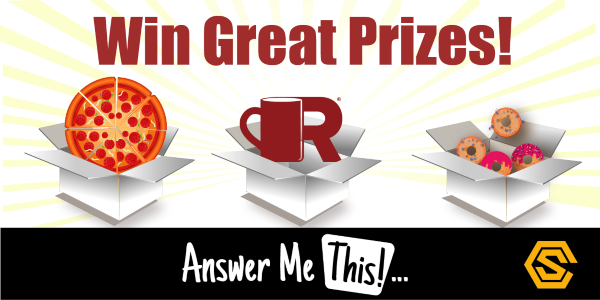 Construction Solutions - Answer Me This... Prizes