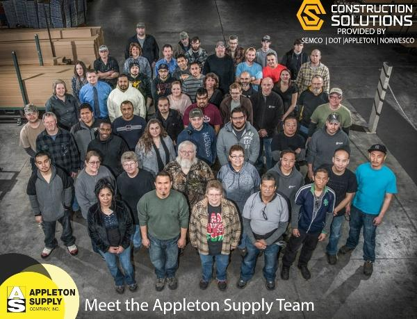 Construction Solutions Meet Appleton Supply