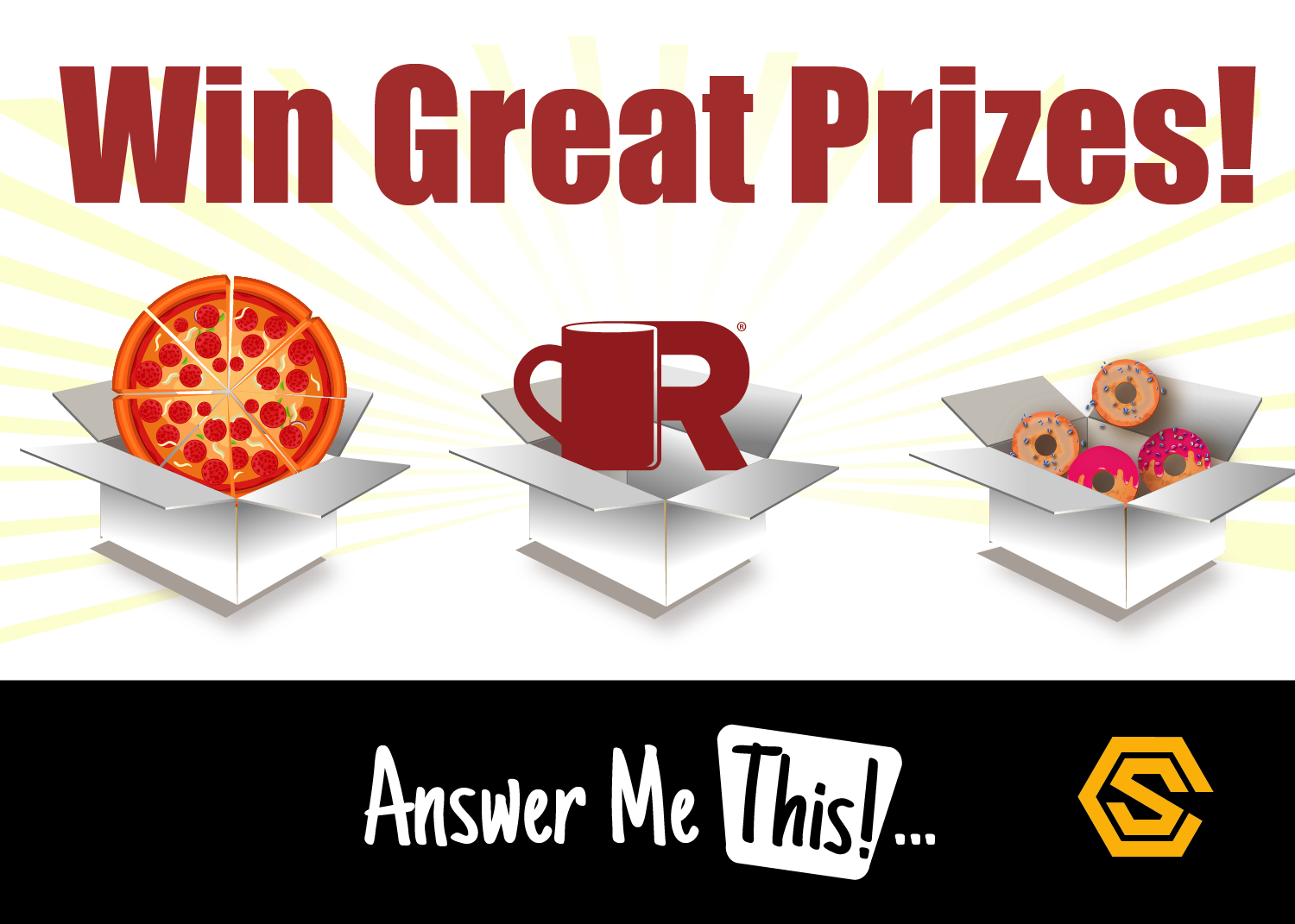 Construction Solutions -  Navigational Ad - Answer Me This Prizes