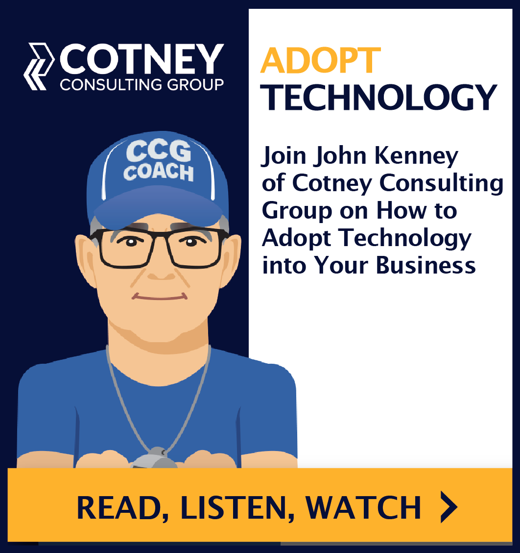 Cotney Consulting Group - Sidebar Ad - RLW Smartsheets