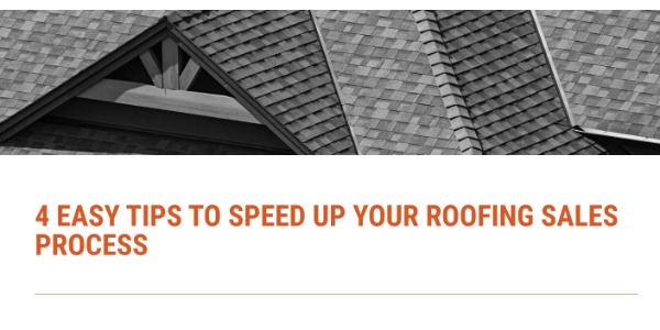 JOBBA - 4 Easy Tips to Speed Up Your Roofing Sales Process