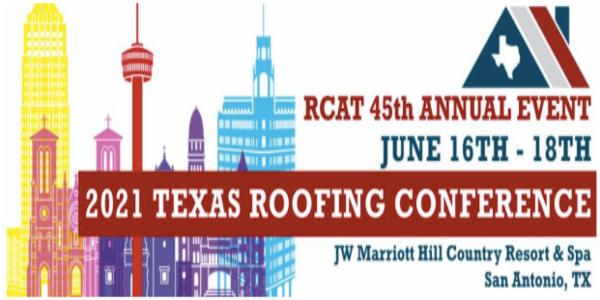 RCAT Texas Roofing Conference Rescheduled