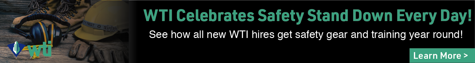 WTI - Banner Ad - WTI is Hiring!- Safety