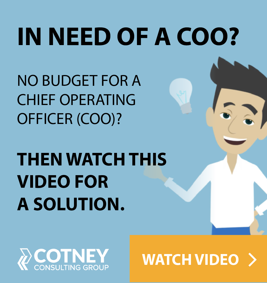 Cotney Consulting Group - Sidebar Ad - COO
