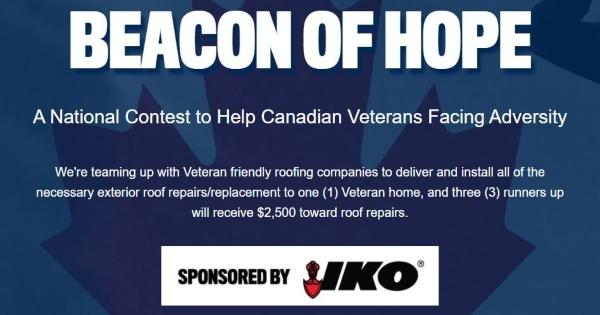 Beacon Canada Beacon of Hope for Veterans