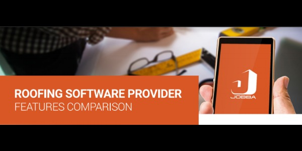 JOBBA - Roofing Software Provider Features Comparison Chart