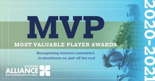 Roofing Alliance MVP Nominations