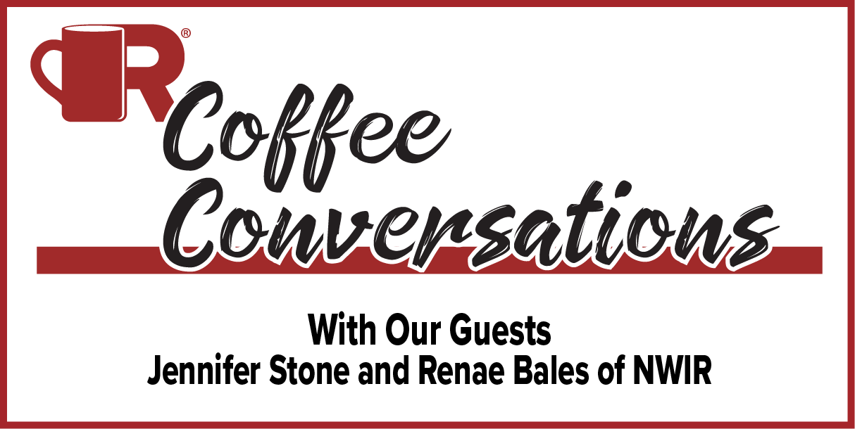 NWIR - Coffee Conversations The rise of Women in Roofing - Social size podcast graphic
