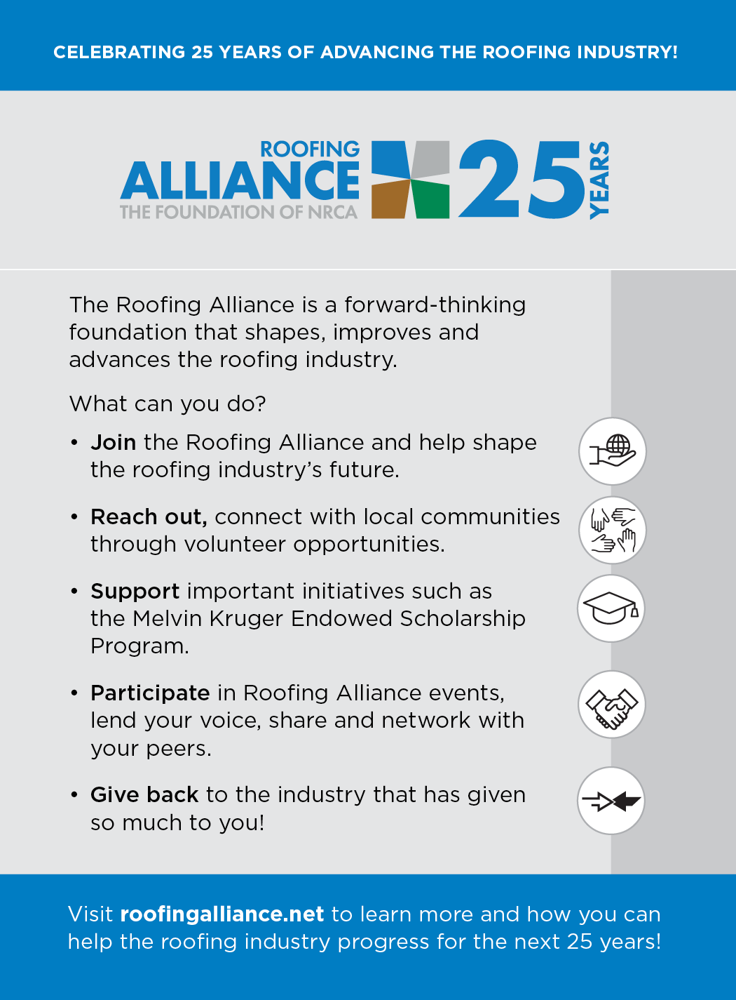 Roofing Alliance 25 Anniversary