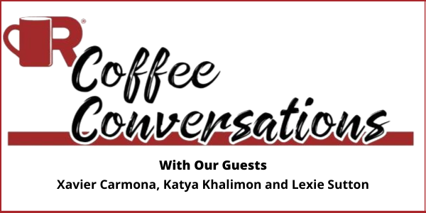 Coffee Conversations - Gen Z Takeover white graphic