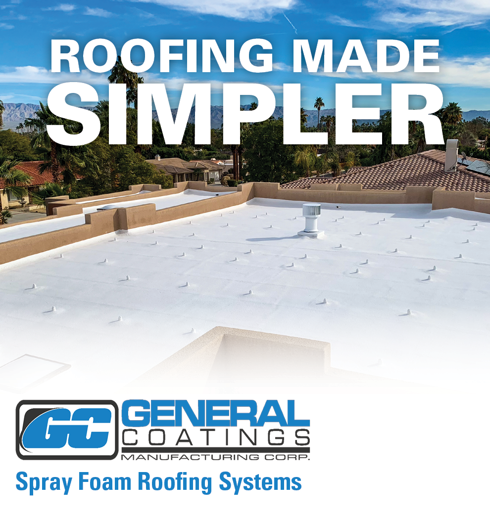 General Coatings - Sidebar Ad - Roofing Made Simpler