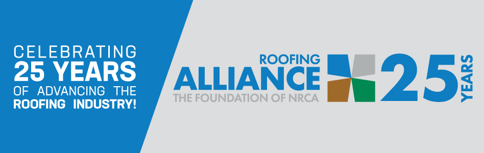 Roofing Alliance - Billboard Ad - 25th Anniversary