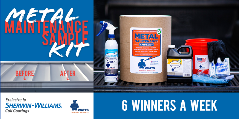 Win a Metal Maintenance Sample Kit from Sherwin-Williams!