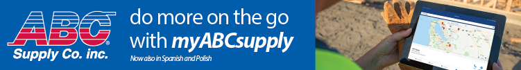 ABC Supply - Banner Ad - myABCsupply