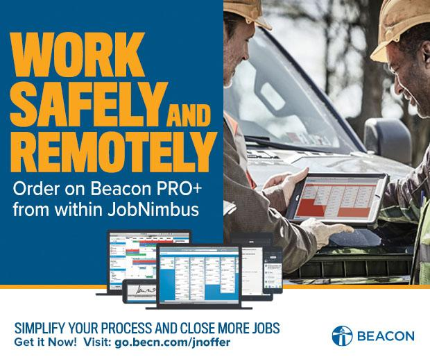 Beacon - Navigational Ad - Beacon Pro+ with JobNimbus