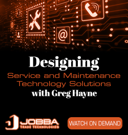 JOBBA - Sidebar Ad - RLW Designing Service and Maintenance Technology Solutions - On Demand