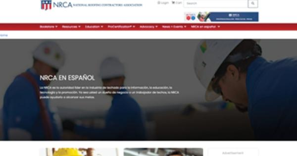 NRCA Landing Page in Spanish